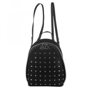 Stella McCartney Black Fabric Backpack - used