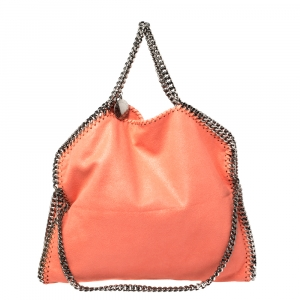 Stella McCartney Coral Faux Leather Falabella Tote