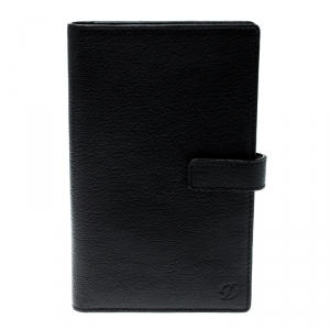 S.T. Dupont Black Leather Agenda Cover