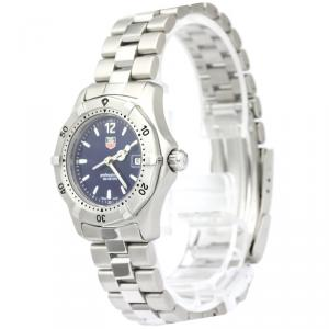Tag Heuer Blue Stainless Steel Professional Women's Wristwatch 28MM