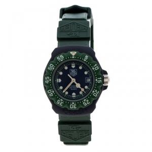 Tag Heuer Blue/Green Formula One 362.508 Women's Wristwatch 28 mm