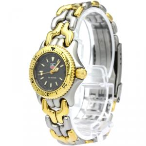 Tag Heuer Grey Gold Plated Stainless Steel S/EL Women's Wristwatch 24MM