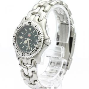 Tag Heuer Black Stainless Steel Sel Professional 200M WG1319 Women's Wristwatch 28 MM