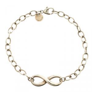 Tiffany & Co. Infinity Silver Classic Link Bracelet
