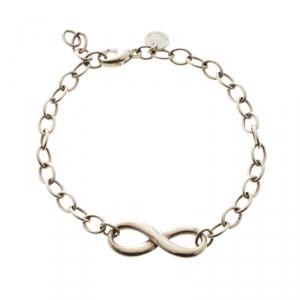 Tiffany & Co. Infinity Silver Chain Link Bracelet