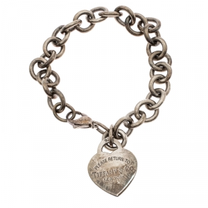 Tiffany & Co. Return to Tiffany Heart Tag Silver Bracelet