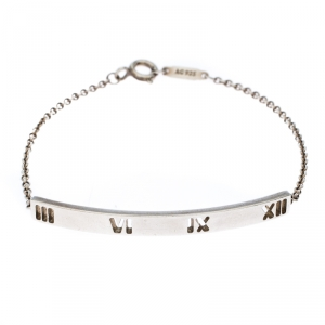 Tiffany & Co. Atlas Silver Bar Bracelet