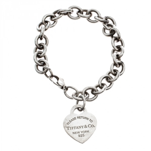 Tiffany & Co. Return to Tiffany Heart Tag Charm Bracelet