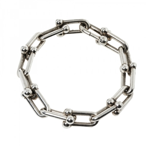 Tiffany & Co. Sterling Silver HardWear Link Bracelet