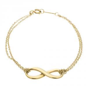 Tiffany & Co. Infinity 18k Gold Bracelet