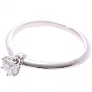 Tiffany & Co. 0.31ct Diamond Ring Size 51