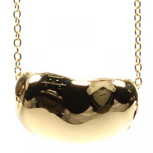 Tiffany & Co. Elsa Peretti Bean 18k Yellow Gold Pendant Necklace