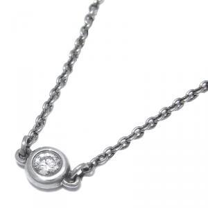 Tiffany & Co. Silver By The Yard Diamond Bracelet