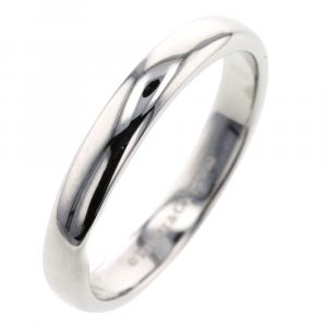 Tiffany & Co. Classic Band Platinum Silver Ring Size 54.5
