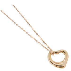 Tiffany & Co. Open Heart 18K Rose Gold Necklace