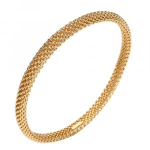 Tiffany & Co. Somerset 18K Yellow Gold Bracelet