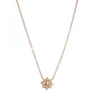 Tiffany & Co. Enchant Flower Diamonds 18K Rose Gold Necklace