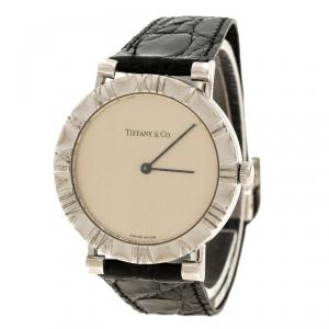 Tiffany & Co. Silver Atlas Women's Wristwatch 31 mm