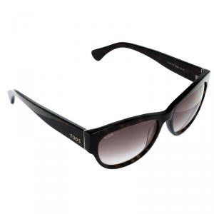 Tod's Dark Havana/ Brown Gradient TO 59 52F Cat Eye Sunglasses