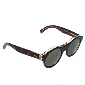Tod's Brown TO 19652N Round Sunglasses