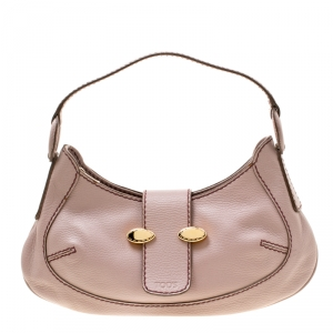 Tod's Lilac Leather Hobo