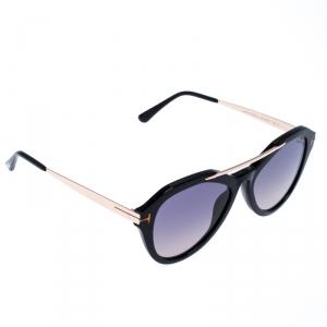 Tom Ford Black Smoke Lisa Sunglasses