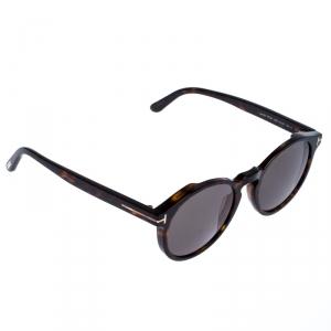 Tom Ford Brown Tortoise Smoke Ian-02 Sunglasses