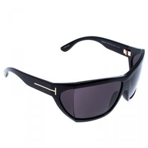 Tom Ford Black Sedgewick Oversized Square Sunglasses
