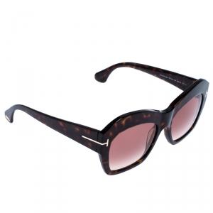 Tom Ford Tortoise Gradient Emmanuelle Sunglasses