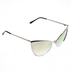 Tom Ford Gold Mirror TF 304 Nastasya Cat Eye Sunglasses