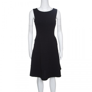 Tommy Hilfiger Black Sleeveless Paneled A- Line Dress S used