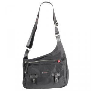 Tumi Black Nylon Crossbody Bag