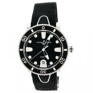 ساعة يد نسائية أوليس ناردين ديفر 8103-101 ستانلس ستيل سوداء 37 مم
