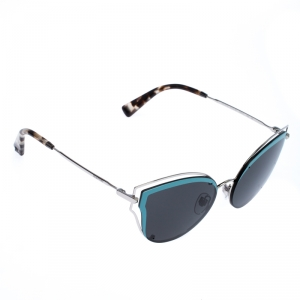 Valentino Blue/Grey Smoke VA2015 Cat Eye Sunglasses