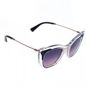 Valentino Transparent/Purple Gradient VA4031 Sunglasses