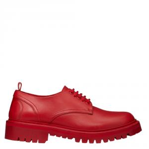 Valentino Rouge Pur Leather VLOGO Detail Derby Size 39
