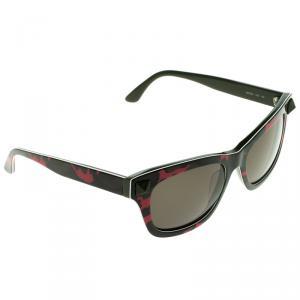 Valentino Pink Camouflage V670SC Rockstud Wayfarer Sunglasses