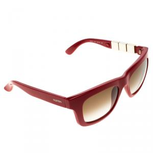 Valentino Red V691S Rockstuds Cat Eye Sunglasses