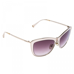 Valentino Rose Pink/ Brown Gradient V108S Rectangular Sunglasses