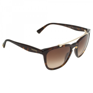 Valentino Tortoise/Brown Gradient VA4002 Square Sunglasses