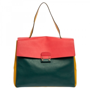 Valentino Garavani Multicolor Leather Mime Bag