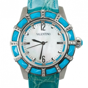 Valentino Sapphire Crystal Womens Wristwatch 38 MM
