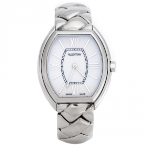 Valentino Mother of Pearl Stainless Steel Liaison V48 Women's Wristwatch 32 mm