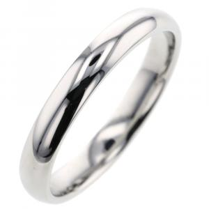 Van Cleef & Arpels Infini Marriage Platinum Ring Size 53