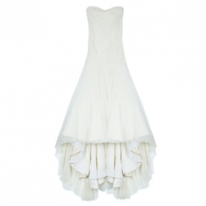 Vera Wang Twirl Tulle Wedding Dress L