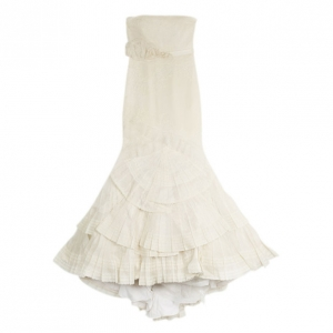 Vera Wang Audrey Luxe Wedding Dress L