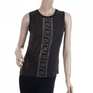 Versace for H&M Black Studded Tank Top