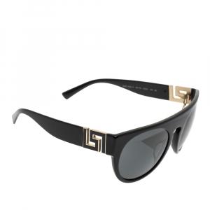Versace Black MOD. 4333-A Round Sunglasses