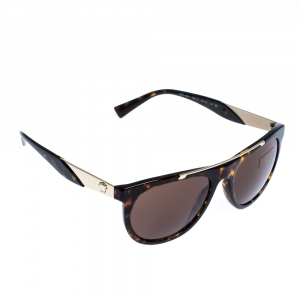 Versace Brown Tortoise MOD.4347 Sunglasses