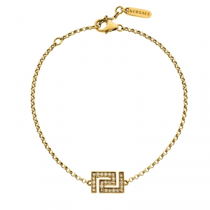 Versace Diamond 18k Yellow Gold Bracelet